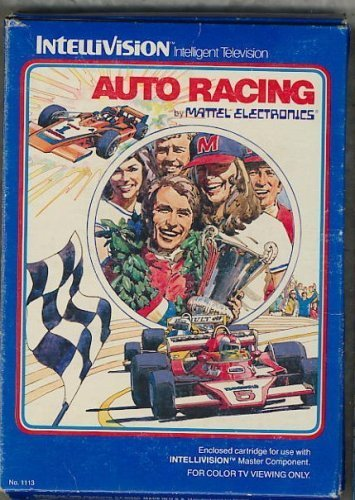 INTELLIVISION AUTO RACING VIDEO GAME COMPLETE SET (COMES WITH ORIGINAL BOX, INST