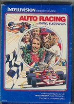 INTELLIVISION AUTO RACING VIDEO GAME COMPLETE SET (COMES WITH ORIGINAL B... - $4.95