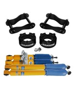 "Fits 2005-2015 Nissan Frontier 3"" Front 2"" Rear Level Lift Kit Shocks 2W... - $665.95"