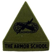 US Army The Armor School Subdued Patch - $7.91