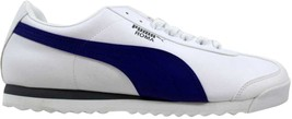 Puma Roma Basic White/Clematis Blue 353572 46 Men's SZ 13 - $60.00