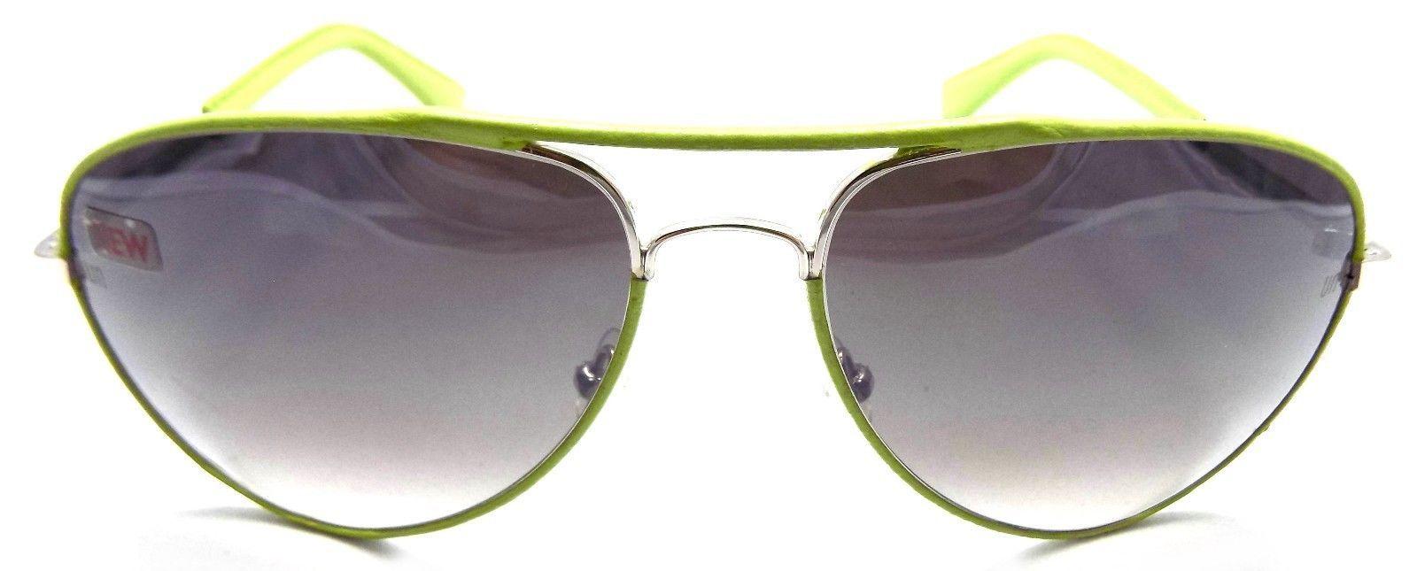 Unofficial Sunglasses Aviator UN01 Green Frame 60x20x130 Mirrored Brown Gradient