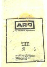 NEW INGERSOLL-RAND ARO 93131 CREAM O-RINGS (BAG OF 5)