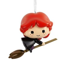 Hallmark Christmas Ornaments, Harry Potter, Ron on Broomstick Ornament - $18.08