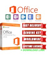 Genuine Microsoft Office 2016 Professional Plus Full Version key windows... - $8.99