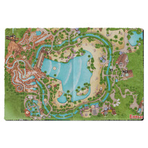 Typhoon Lagoon Map Door Mat - $37.99+