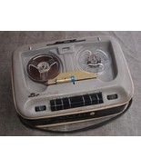 Rare Antique  Soviet USSR  Russian  Portable Reel To Reel Recorder Vesna... - $190.07