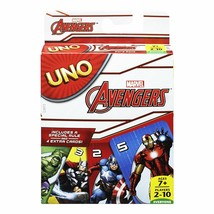 Marvel Avengers UNO Card Game Brand new sealed package Mattel Games - $14.99