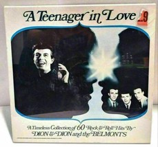 Dion & Dion And The Belmonts A Teenager In Love 60 Hits 4 Record Vinyl S... - $49.99