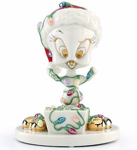 "Lenox Tweety Tangled in Lights Looney Tunes Figurine 5.25""H New In Box - $68.00"