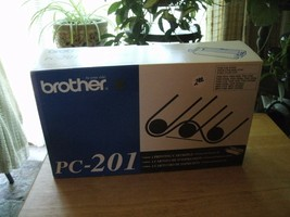 3#   Brother Genuine OEM PC-201 Single Unit Printing Cartridge NEW  - $11.36