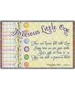 Precious Little One Mini - 35 x 54 Blanket/Throw - $39.95