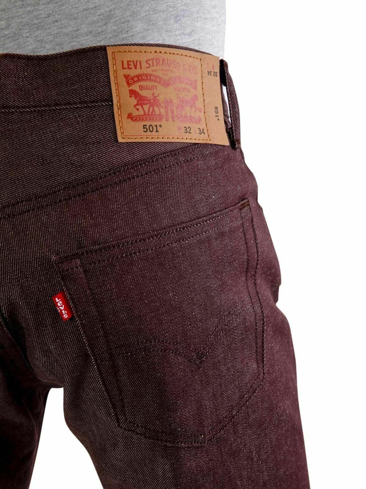 Levi's 501 Men's Original Fit Straight Leg Jeans Button Fly 501-1406