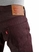 Levi's 501 Men's Original Fit Straight Leg Jeans Button Fly 501-1406 image 1