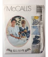 McCall's 9252 Size 4 5 6 Girls' jacket Dress with Attached Petticoat - $11.64
