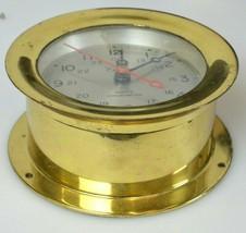 "Antiqe Chelsea Ship Bell Brass Clock 6""  - $474.99"