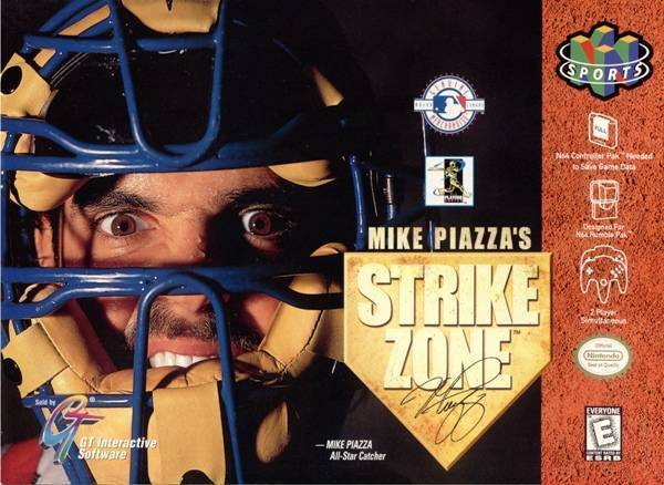 Mike Piazza's Strike Zone N64 Great Condition Fast Shipping