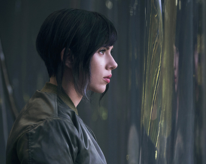 Ghost in the Shell Scarlett Johansson in profile 16x20 Canvas Giclee - $69.99