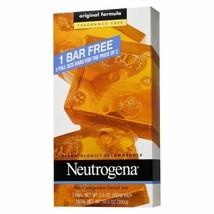 Neutrogena FRAGRANCE-FREE Transparent Facial Cleansing Bar, 3.5 oz each,... - $12.99
