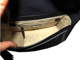 Tory Burch Blue Tassel Large Shoulder Bag Purse Satchel image 7