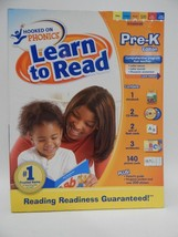 Hooked On Phonics - Lear To Read Pre-K Edition - w/ CD's - Ages - 3-4 Years - $29.02