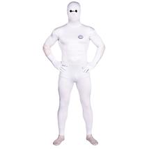 Big Hero 6 Baymax White Bodysuit Zentai Catsuit Tights Costume - $53.90