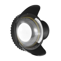 Camera 200mm Fisheye Wide Angle Lens Dome Port Case Cover 67mm Round Ada... - $203.83