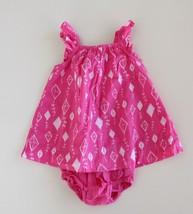 Baby Gap 3-6 M Kite Dress w/ Bloomers L/S Ruffle Strap Cap Sleeve - $16.80