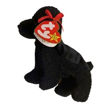 Gigi The Poodle Dog Ty Beanie Baby Back MWMT Retired Rare Plush Collectible - $8.86