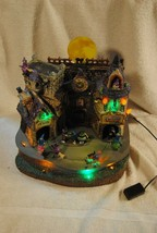 Rare Lemax Spooky Town Halloween LIL' WITCHES & WARLOCKS NIGHTCARE #4567... - $89.99