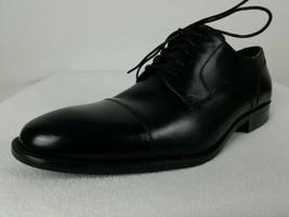 Cole Haan Benton Cap Oxford 2 Dress Shoes Men's 13 M Black Leather C24121 - $64.99