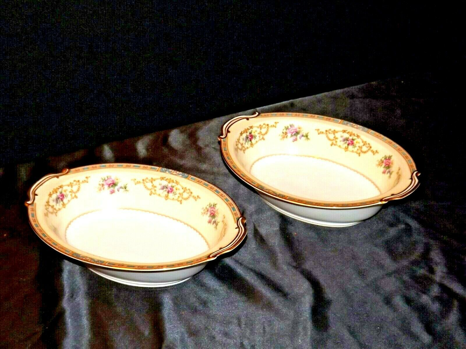 Noritake China Serving Bowls Colby 5032 AA19-1467 Vintage