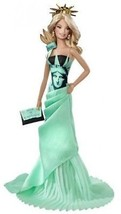 Dolls World Landmark Collection Toy Statue Liberty Deluxe Barbie Collect... - $55.47