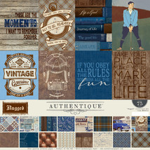 Authentique - Rugged Collection Kit, over 75 Pieces (Gentlemen, Masculine) - $16.99