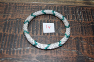 * USA 1 SET Nepal Rolls on Bead Glass Seed Bracelet crochet handmade bangle GIFT