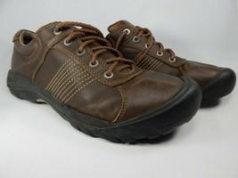 Keen Finlay Größe US 14 M (D) Eu 47,5 Herren Freizeit Oxford Schuhe Braun