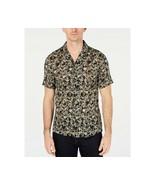 MK Michael Kors Men's Dax Print Camp Collar Shirt 100% cotton XL NWT - $27.95