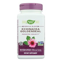 Nature's Way - Echinacea Goldenseal - 180 Capsules - $25.49