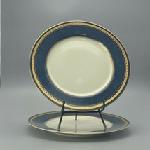 """mikasa Imperial Lapis Dinner Plates Lot Of 2    - 8 1/2""""  0503H - $29.60"""