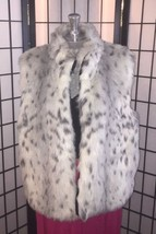 Faux Fur Vest by Investments Womens Size Large - $32.62