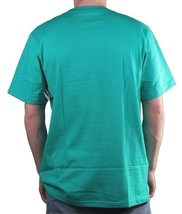 LRG Lifted Research Men's Aqua Green The Rooted T-Shirt Medium NWT image 2