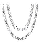 Boy Stainless Steel Round Box Chain 18 Inch 6mm Men's Necklace - $8.26