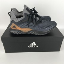 Adidas Alphabounce Beyond Homme Chaussures Carbone/Gris CG4762 Taille 9 - $97.72