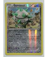 Ferroseed 79/122 Reverse Holographic Holo Pokemon Card XY Breakpoint Set LP - $2.44