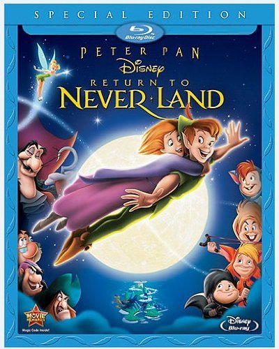 Disney Peter Pan: Return to Never Land (Blu-ray + DVD)