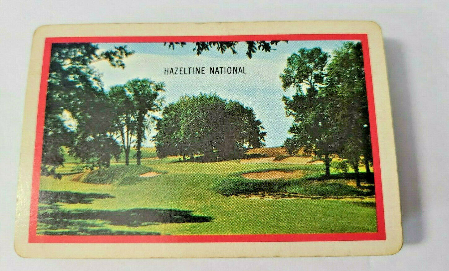 Hazeltine National Scenic Deck of Playing Cards Brown & Bigelow (#33)