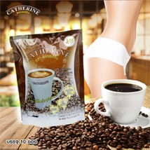 Slimming Weight Loss Instant Coffee Mix Catherine Brand +Prune,L-Carnitine - $11.99