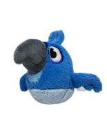 """Angry Birds Rio Blue Bird Plush Blu McCaw 6"""" Stuffed Animal Toy Rovio Pa... - $27.54"""
