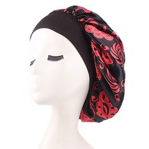 Women Elastic Band Durable Portable Floral Print Exquisite Wide Brimmed ... - $8.00