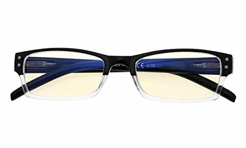 Anti Blue Rays,Reduces Eyestrain,Spring Hinge,Computer Reading Glasses Mens Wome